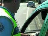 contrôles routiers par gendarmes