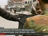 Salleh rechaza mediación internacional en conflicto de Yeme
