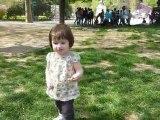 Anouk au jardin des Plantes