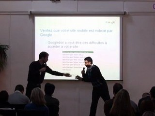 """Conférence """"L'indexation mobile et vous"""" de Google - SEO Campus 2011"""