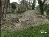 chantier de fouilles préventives à la maison d'éducation de la légion d'honneur
