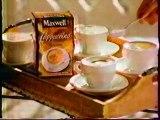 Publicité Café Maxwell 1998