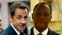 "Sarkozy-Ouattara : une amitié ""de longue date"""