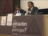 """Ouverture du colloque """"La précaution par principe ?""""  - Dominique Reynié et Gilles Filchenstein"""