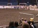 Course à cheval autour des barils (2)
