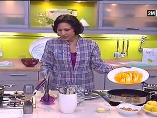 Cuisine de Choumicha - filet de veau mariné