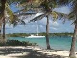 "Aperçu(rapide d'un petit paradis aux iles de ""Petite Terre""(Guadeloupe)"