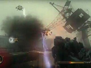 Boat Level Gameplay de Resistance 3