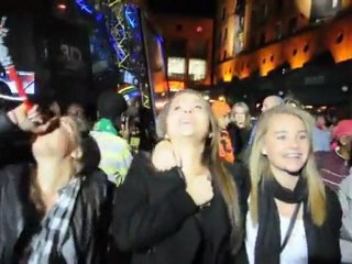 Todo mundo se encontra na Mandela Square