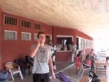 Sénégal Saly 2011 avec Wafou parachutisme. 1° partie