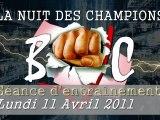 Nuit des Champions 2011 Entrainement