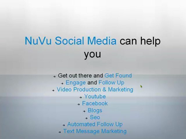 Social Media and Video Marketing