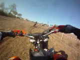 endurance de Flers 2011,tour reco David avec ma moto