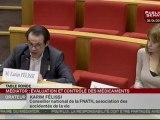 Audition,Table ronde avec des représentants d'associations de patients