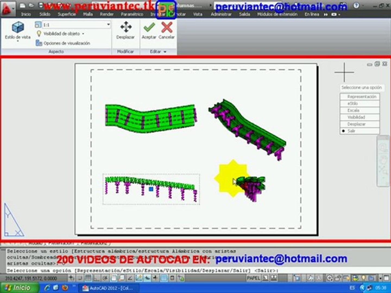 CURSO AUTOCAD 2012 , 200 VIDEOS SECRETOS DE AUTOCAD 2012 2D y 3D , 216 APRENDA EN CASA
