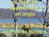 vente d'un appartement au Port de Bormes-les-Mimosas