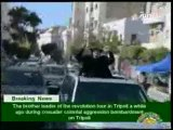 lybie kadhafi dans les rues de tripoli 14 avril 2011