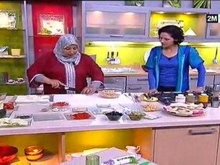 Recette viande hachée pain pita aubergine Msabaha