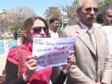 Gaza: manifestation de soutien après la mort du militant pacifiste italien