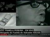Ordenan exhumar restos de Salvador Allende
