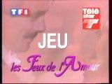 Bande Annonce Promotionnel Jeux TF1 Télé Star Les Feux De L'amour Octobre 1994 TF1