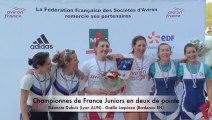 Championnats de France Aviron Finales Juniors