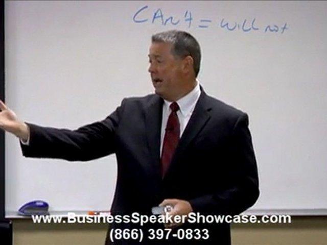 Business Speaker Tim R Green on Referral Marketing Success