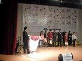 7. Anafen Müzik Günleri yarışmasında Mebruke Salih Koçak İlköğretim Okulu İstanbul 1.si