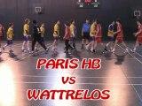 Paris HB vs Wattrelos