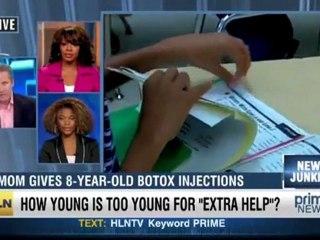 Honteux : une enfant de 8 ans prend du botox ! [TV US]