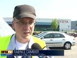 Toyota Onnaing : grève finie mais chômage partiel