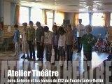 Atelier écriture et théâtre (avec Kwal et Antoine) avec les CE2 de l'école Ledru-Rollin 16-04