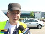 Chez Toyota à Onnaing les ouvriers sont amers