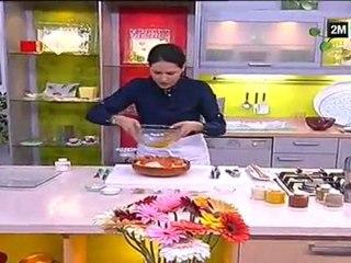 Recette Tajine osso bucco de dinde au four et Gâteau aux fruit sec