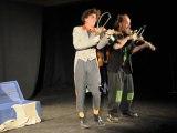 Spectacle Jeune public.  Duo musico-burlesque