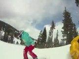 Tahoe-licious snowboarding: gopro hd