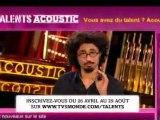 Les Talents Acoustic - Le tremplin des talents musicaux francophones de demain.