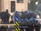 Clashes erupt between Kurds and Turkish police - no comment