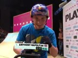 1st BMX Dirt Jump - Anthony Napolitan @ Telekom Extreme Playgrounds[HD]