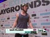 1st Mountainbike Slopestyle - Sam Pilgrim @ Telekom Extreme Playgrounds Duisburg 2011 [HD]