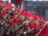 Nice-Lille : les supporters en délire