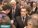 Sarkozy  casse toi pauvre con!