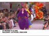 Zapping - John Galliano : la fin de l'âge Dior