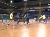 21/04 - EDF féminine - Tournoi de Volklingen (ALL) - Avant France - Norvège