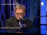 Elton John, Tribeca Film Festivali açılışında...