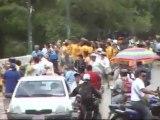 @globovision A la salida de la marcha en la UCV se suscitaro