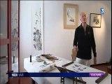 Peinture Zen à l'encre de Chine Robert Faure