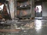@globovision Imagenes del incendio en la UCV