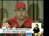 En Mercal trabajadores denunciaron acoso y represión laboral