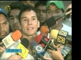 El abogado Alfredo Romero declara luego de conversar con Can